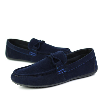 Fashion Autumn New Simple Loafers - Blue - picture 4