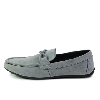 Fashion Autumn New Simple Loafers Grey - picture 2