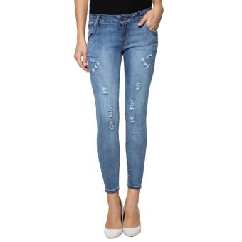 Fashion Balaynor Skinny Distressed Jeans