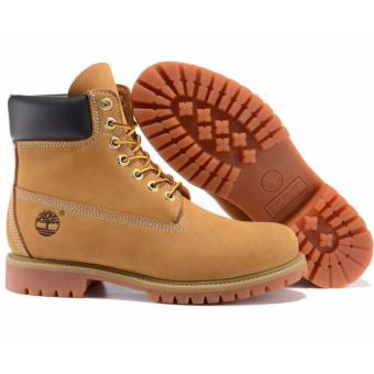 Fashion Boots For Timberland High Women's 10061 (Light Yellow) -intl - 2