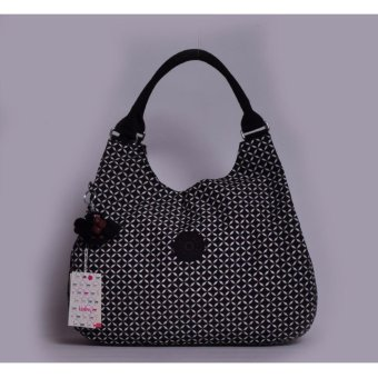 Fashion canvas Women's Handbag Casual Bags(Black) - intl Price Philippines