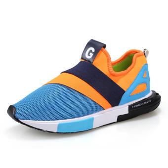 Fashion Colorful Men Low Cut Sneakers