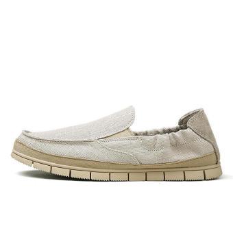 Fashion Flaxt Men Low Cut Loafers - Beige - picture 2
