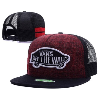 Fashion Hip Hop VANS Snapback Cap Adjustable Sport Hat - intl