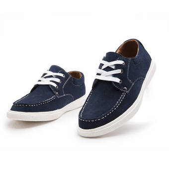 Fashion Leisure Flat Shoe (Blue) - picture 2