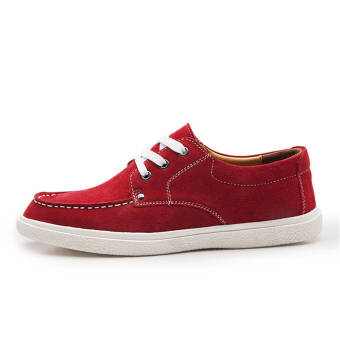Fashion Leisure Flat Shoes (Red)