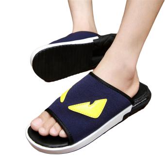 Fashion Little Monster Flip-Flops-Blue - picture 2