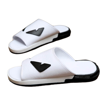 Fashion Little Monster Flip-Flops-White