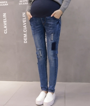 Fashion Maternity Belly Jeans - 3