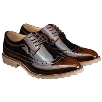Fashion Men Business Shoes - Bronze - picture 2