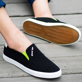 Fashion Men Flat Loafers (Black) - picture 2