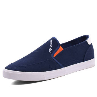 Fashion Men Flat Loafers - Blue - picture 2