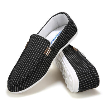 Fashion New Canvas Loafers (Black)