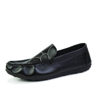 Fashion New Flat Loafers - Black - picture 2
