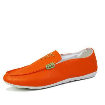 Fashion New Soft Loafers (Orange)