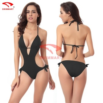 Fashion One Piece Swimsuit Swimwear Women Bodysuit Bathing Suit Swim Backless Beach Wear Monokini Swimming Suit for Women