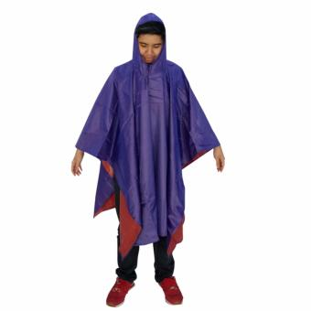Fashion Rain Coat 885 - Blue Price Philippines