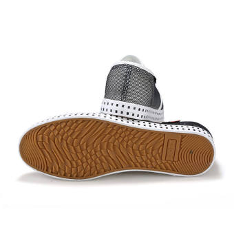 Fashion Simple Breathable Loafers -Black - picture 2