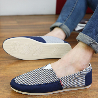 Fashion Simple Convenience Loafers -Dark Blue