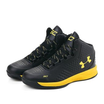 Fashion Sneakers Stephen Curry Shoe Sports Training Men High TopCasual Basketball Shoes (Black) - intl