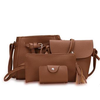 Fashion Trend 4 in 1 Bag Set BBWJH0021 (Brown) Price Philippines