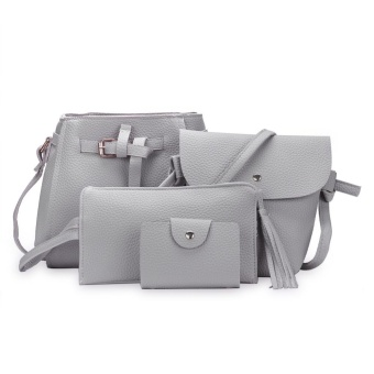 Fashion Trend 4 in 1 Bag Set BBWJH0021 (Grey) Price Philippines