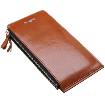 Fashion Women Clutch Long Leather Purse Lady Wallet Card HolderHandbag Coin Bag Coffee