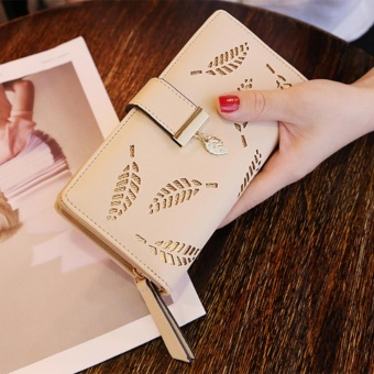 Fashion Women Wallet Leather Clutch Card Holder Purse Lady Long Handbag - intl