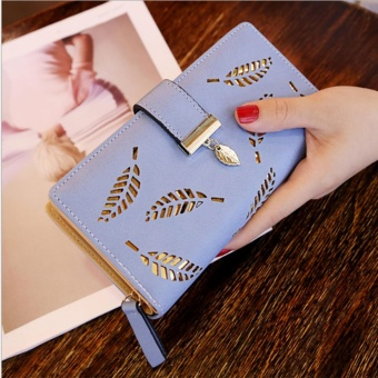 Fashion Women Wallet Leather Clutch Card Holder Purse Lady LongHandbag - intl