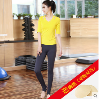 6a5ad8023f97 Best Buy Fashion women s quick-drying stretch Running clothing yoga ...