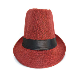 Fashionable Sharp Hat (Maroon) - picture 2