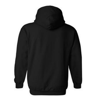 Fashionista 1989 Plain Black Hoodie Jacket - 2