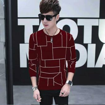 Fashionista Line Fashionable Sweater (Maroon)