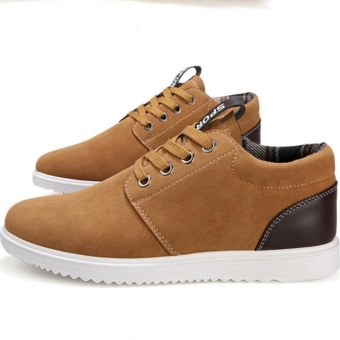 Fashionistas men comfortable casual shoes Brown - intl - 5
