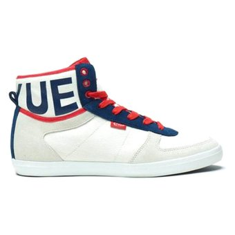 Feiyue A.S High MVP (White/Red/Blue)
