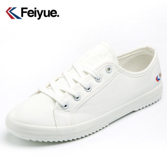 Feiyue shoes/feiyue classic Korean version of the small white shoes/sneakers men and women(White) - intl