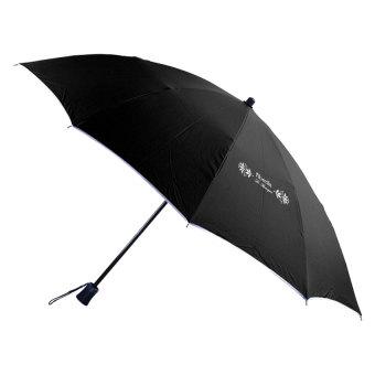 Fibrella Le Baroque Umbrella F00033 (Black)