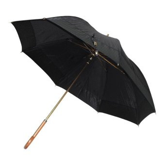Fibrella Umbrella F00361 (Black with HoundStooth)