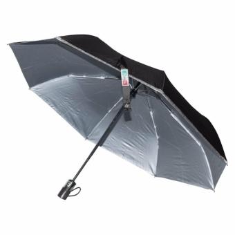 Fibrella Umbrella F00409 Automatic with UV Protection(Black) - 2