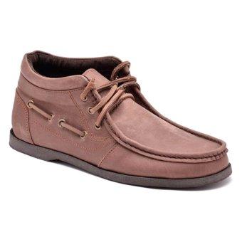 Finch Brick Mid-Cut Shoes (Dark Brown)