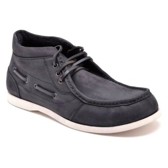 Finch Knight Mid-Cut Shoes (Black)