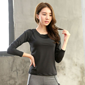 Fitness female I long-sleeved t-shirt