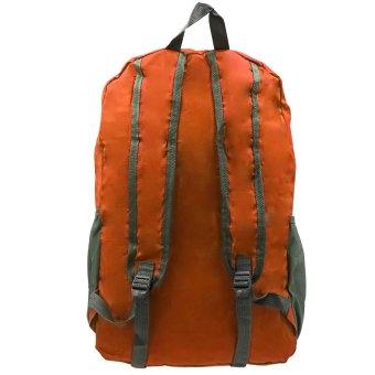 Foldable Stylish Travelling Backpack (Orange) - picture 4