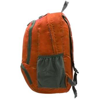 Foldable Stylish Travelling Backpack (Orange) - picture 3