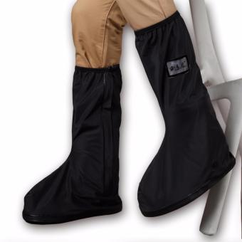 Foldable Waterproof Flood Proof Rain Shoe Cover for Men - 3