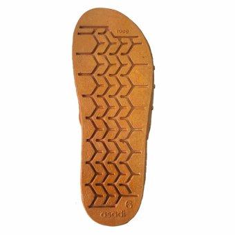 Foot Reflexology Massage Health Slippers AS1 (Brown) - 3