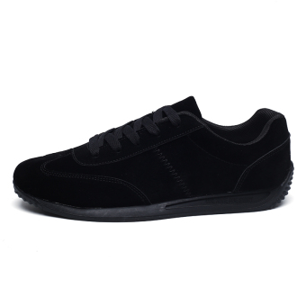 Forrest Gump Korean-style breathable men's I casual shoes summer I shoes (6688 black)
