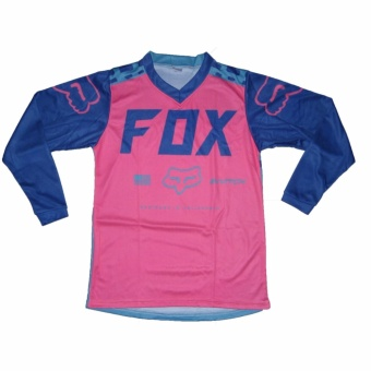 Fortress Cycling Mountain Bike Long Sleeve Jersey (FOXMTB#53) - 4