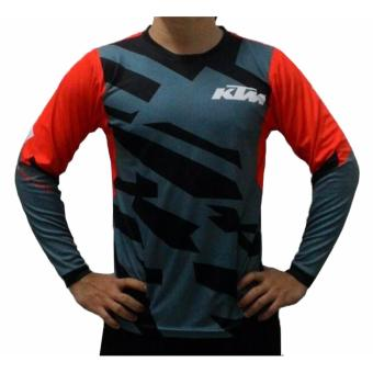 Fortress Cycling Mountain Bike Motocross Motorcycle/MTB Long SleeveJersey (KTMMTB2)