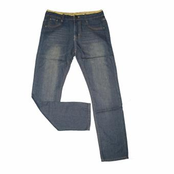 Fortress New Fashion Jeans Straight Cotton Male Korean PantsTrousers #087 Price Philippines